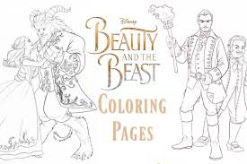 Small Picture Beauty and the Beast Coloring Pages and New Clips As The Bunny