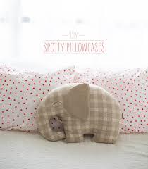 Polka Dot Pillowcases New DIY Spotty Pillowcases Say Yes