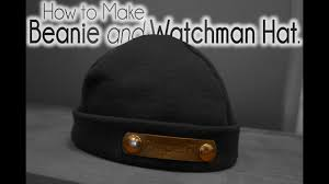 How to make <b>Watchman Hat Beanie</b> - YouTube