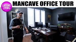 home office man cave. MAN CAVE + HOME OFFICE REVEAL | BEFORE AND AFTER REMODEL Home Office Man Cave