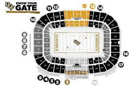 Spectrum Stadium Seating Chart Ucf Fan Guide To 2019 Ucf Football Season