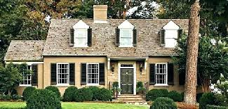 exterior house shutters. Shutters For House With Brown Brick Houses Exterior Color Ideas .