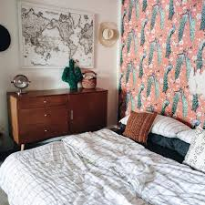 Small Spaces with Removable Wallpaper