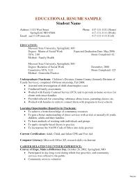 Sample Resume For Social Worker Best Sample Best Solutions Examples
