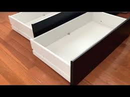 How To Assemblebuild IKEA Dresser Drawers  FAST U0026 EASY Easy Assemble Dresser L64