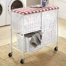 Laundry furniture Cabinet Rolling Laundry Cart Seventh Avenue Utility Laundry Cabinets Hampers Seventh Avenue