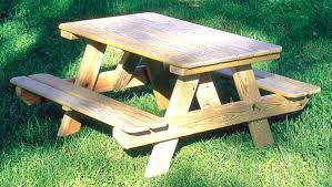 bench tables for wooden picnic tables for bathroom delightful kids wooden picnic table