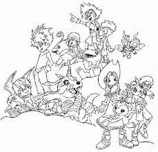Small Picture Awesome Digimon Coloring Pages Cartoon Coloring pages of