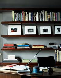 home office wall shelving. Stylish Home Offices Office Wall Shelving