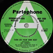 Roy Everett – Turn On Your Own Heat (1970, Vinyl) - Discogs