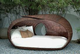 exquisite wicker bedroom furniture. Furniture Fortable Round Wicker Outdoor Daybed For Patio Trends Bed Exquisite Bedroom W