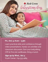 babysitting certificates usafa support youth center babysitting class
