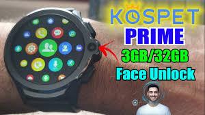 <b>Kospet Prime</b> - Smartwatch com 2 Cameras, <b>Face</b> Unlock, 3GB ...