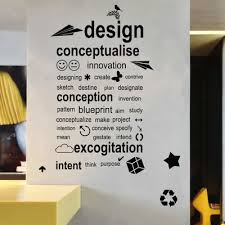 creative office walls. Specials Wall English Design Stickers Company Corporate Office And Creative Walls