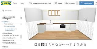 Cuisine Quip E Am Nag E Ou Compl Te Pas Cher Ikea Avec Planner 3d