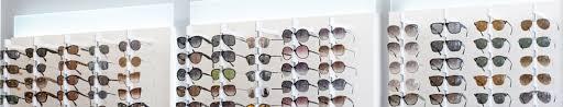 sunglass eyewear wall displays wall mounted optical frame display systems cases racks boards ennco display group