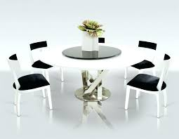 modern round glass dining table contemporary for 6 8 set circle dinner tables seater circ