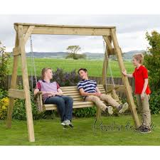 garden swing seat cushions uk. 3 seat wooden garden swing reference: z4-hswing-3seat cushions uk