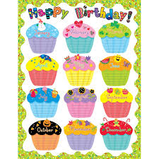 Chart For School Happy Birthday Chart