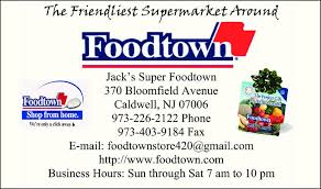 Image result for jack's foodtown caldwell nj