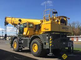 2019 Grove Grt8100 100 Ton Rough Terrain Crane Shawmut