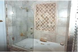 installing a glass shower door tub with glass shower door beautiful bathtub shower doors installing glass