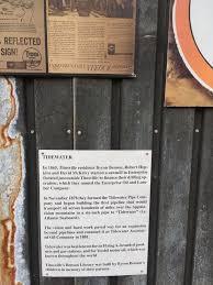 Tidewater Historical Marker
