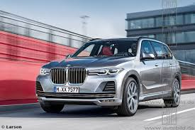 High-end BMW X7 to compete with Range Rover and Bentley Bentayga