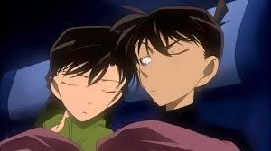 Shinichi Kudo and Ran Mouri - Home