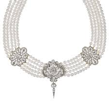 an early victorian diamond and pearl necklace bentley skinner the mayfair antique and bespoke jewellery in the heart of london
