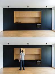 Kitchen Designs: Black Kitchen Counter - Black, White \u0026 Wood ...