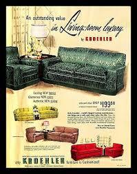 1951 kroehler furniture manufacturer