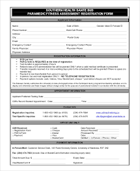 Sample Fitness Assessment Form 7 Documents In Pdf