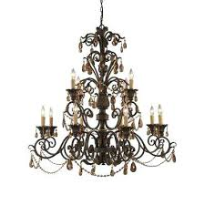 black crystal chandelier light weathered mahogany ceiling mount canada