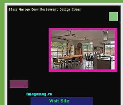 glass garage doors restaurant. Glass Garage Doors Unique Door Restaurant Design Ideas The Best Image