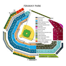 Fenway Pavilion Club Seating Chart Fenway Seating Chart View