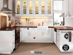 gorgeous home interior decoration with various ikea white flooring ideas epic u shape kitchen decorating