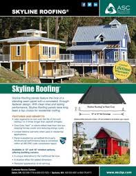 Asc Skyline Roofing By Tracy Jones Issuu