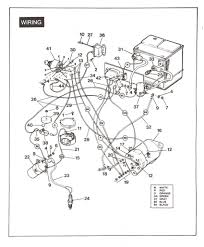 golf cart wiring diagram with basic 1995 Yamaha G14 Gas Wiring Diagram Yamaha G16E Wiring-Diagram