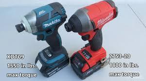 makita impact driver 3 8. milwaukee 2753 vs makita xdt09 impact driver comparison and demonstration - youtube 3 8