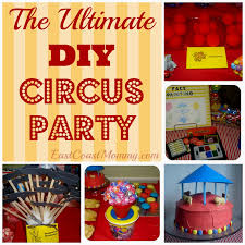 Homemade Circus Decorations Party Themed Archives Decorating Of Party