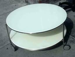 round coffee table ikea collectibles sold white on wheels with storagemodern glass casters lack high gloss square t side black red tile tables uk