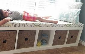 diy bedroom bench. DIY Window Bench:This Bench With Extra Adorable Cushion Is Super Easy To Make, All You Have Do Check This And Useful Project. Diy Bedroom L