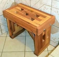 wood shower bench teak plans wooden seats target