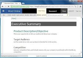 How To Create An Executive Summary In Word Free Executive Summary Template For Word