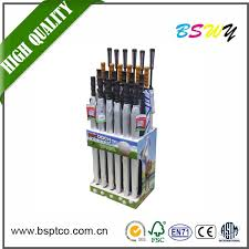 Cricket Bat Display Stand China Company Supply Good Quality Handmade Cardboard Display Stand 2