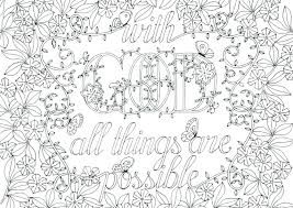 Unique Free Adult Christian Coloring Pages Or Bible Verse Coloring