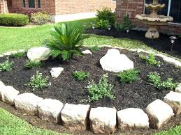 rocks for flower bed borderflower beds with rock borders home decorating  ideas moss rock flower bed