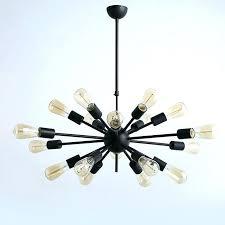 gold sputnik chandelier black sputnik chandelier free vintage retro sputnik chandeliers lights metal black painting