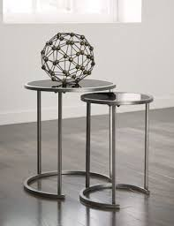 round glass nesting tables image collections bar height dining